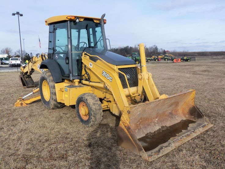 John Deere 310G backhoe | JD construction equipment ...