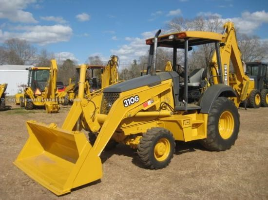 2006 John Deere 310G Loader Backhoe For Sale at ...