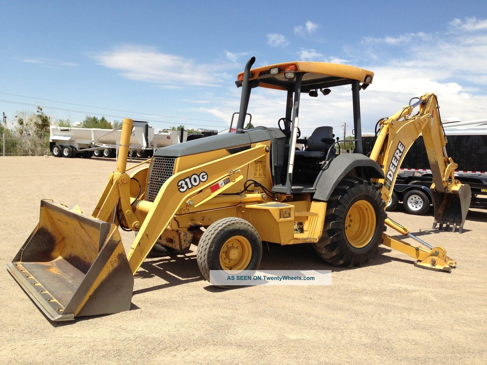 2003 John Deere 310g Backhoe - Recent Pm