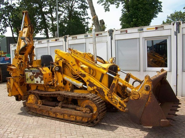 John Deere 350 backhoe loader from Netherlands for sale at ...