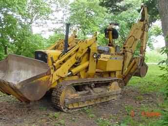 Used Farm Tractors for Sale: J.D. 350 Dozer Loader Backhoe ...