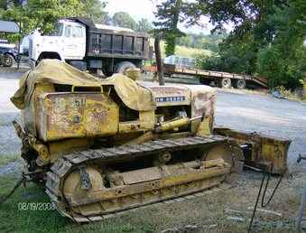 Used Farm Tractors for Sale: John Deere 350 Dozer With 3PT ...