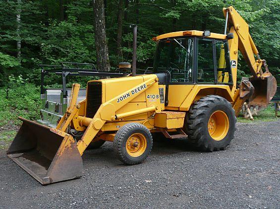 John Deere 410B Backhoe Loader Earthmoving Equipment For ...