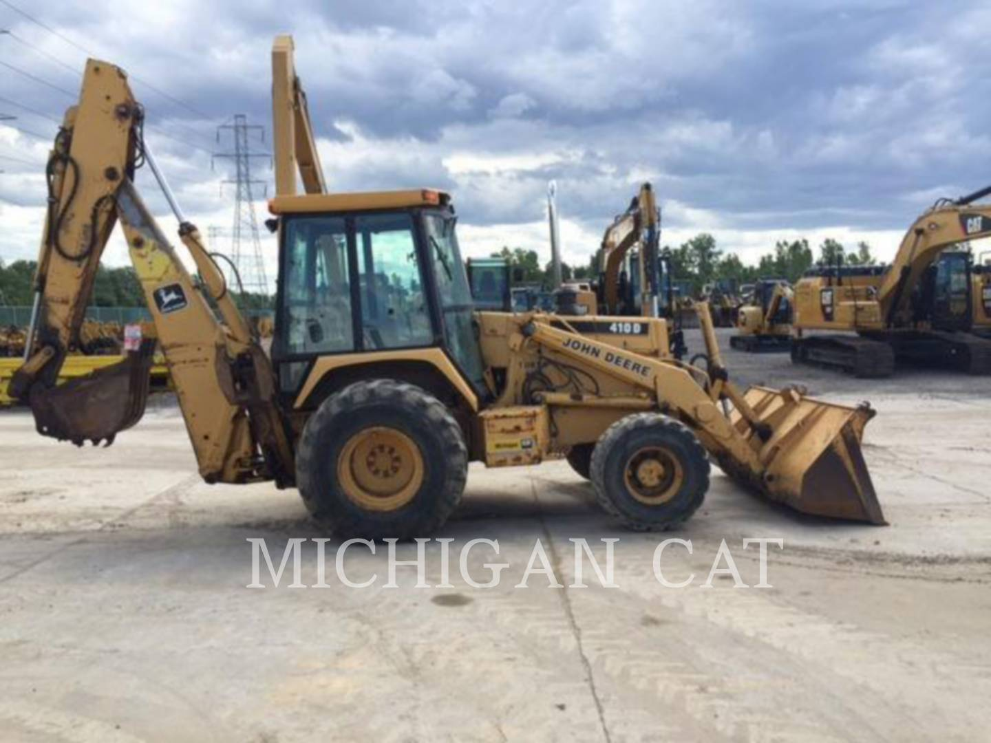 1995 John Deere 410D For Sale (2697797) from Michigan Cat ...