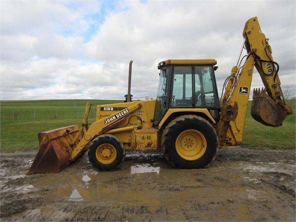 John Deere 410D for sale Weaco Equipment Price: $24,900 ...