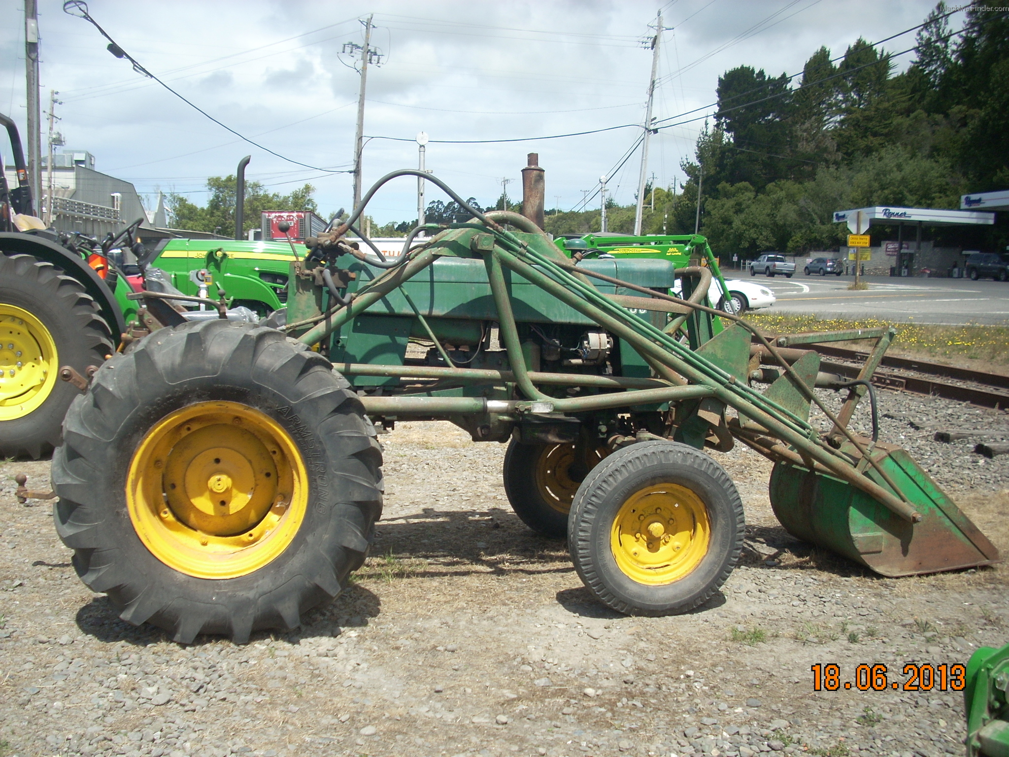 John Deere 430 Tractor Loaders - John Deere MachineFinder
