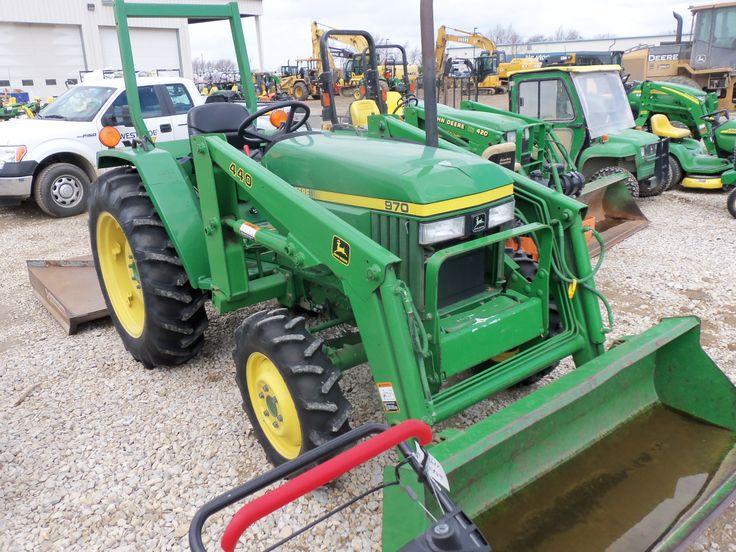 John Deere 970 tractor with 440 loader | John Deere ...