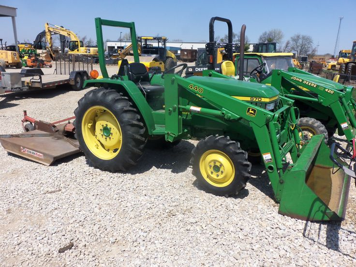 John Deere 970 tractor with 440 loader | Tractors, trains ...
