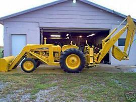 Equipment Movers John Deere 440 industrial backhoe to ...