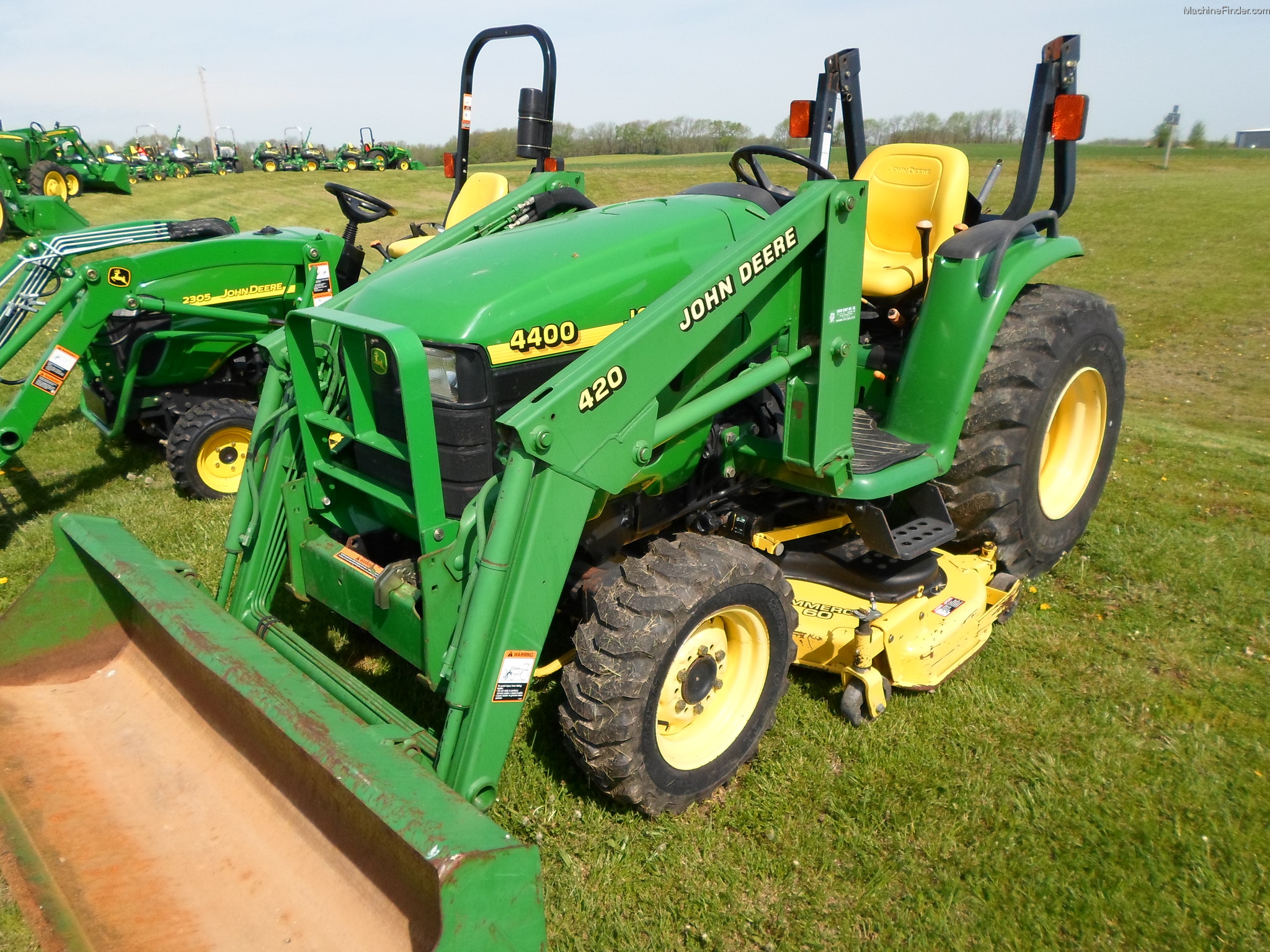 1998 John Deere 4400 Tractors - Compact (1-40hp.) - John ...