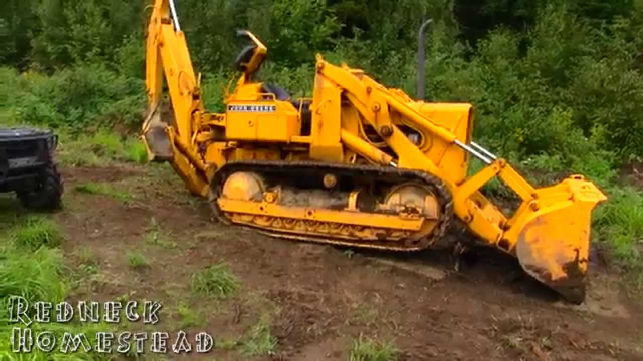 John Deere 450 Crawler Loader / Backhoe Review - YouTube