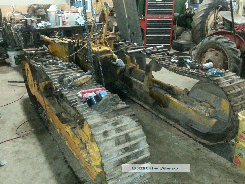 John Deere 450c Crawler Loader With Backhoe