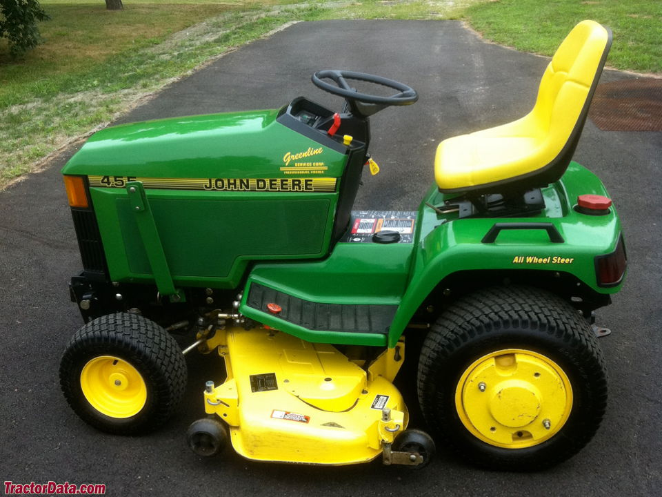 TractorData.com John Deere 455 tractor photos information