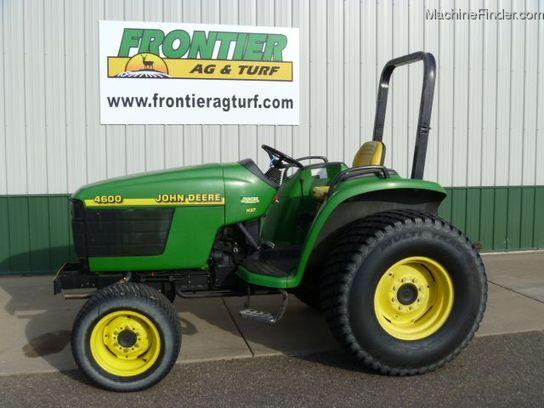 1999 John Deere 4600 Tractors - Compact (1-40hp.) - John ...