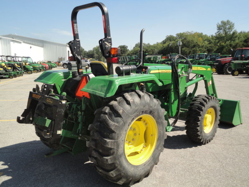 2012 John Deere 5055E Tractor #1PY5055EVCB011592 KENNEDY ...