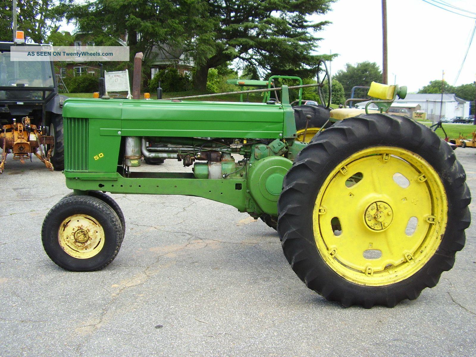 John Deere 50 Narrow Front Tractor