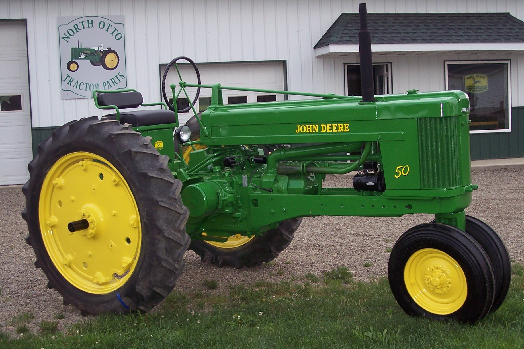 John Deere 50 | North Otto Tractor Parts