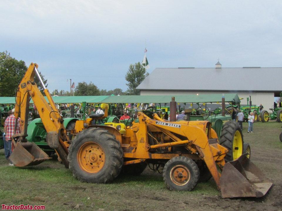 TractorData.com John Deere 500 industrial tractor photos ...