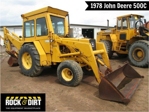 #ThrowbackThursday Check out this 1978 John Deere 500C # ...