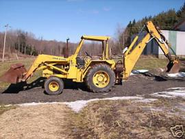 Cost to Ship - 81 John Deere 500c Backhoe w/ extend-a-hoe ...