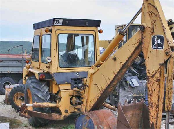 Used John Deere 500C backhoe loaders for sale - Mascus USA