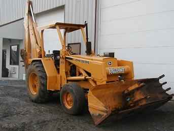 Used Farm Tractors for Sale: John Deere 510 Backhoe (2004 ...