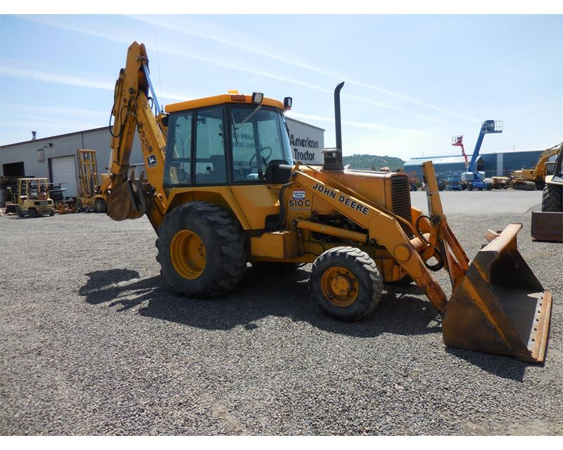 1990 John Deere 510C Loader Backhoe For Sale | Central ...