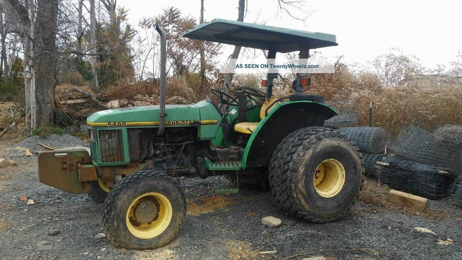 5400 John Deere Tractor