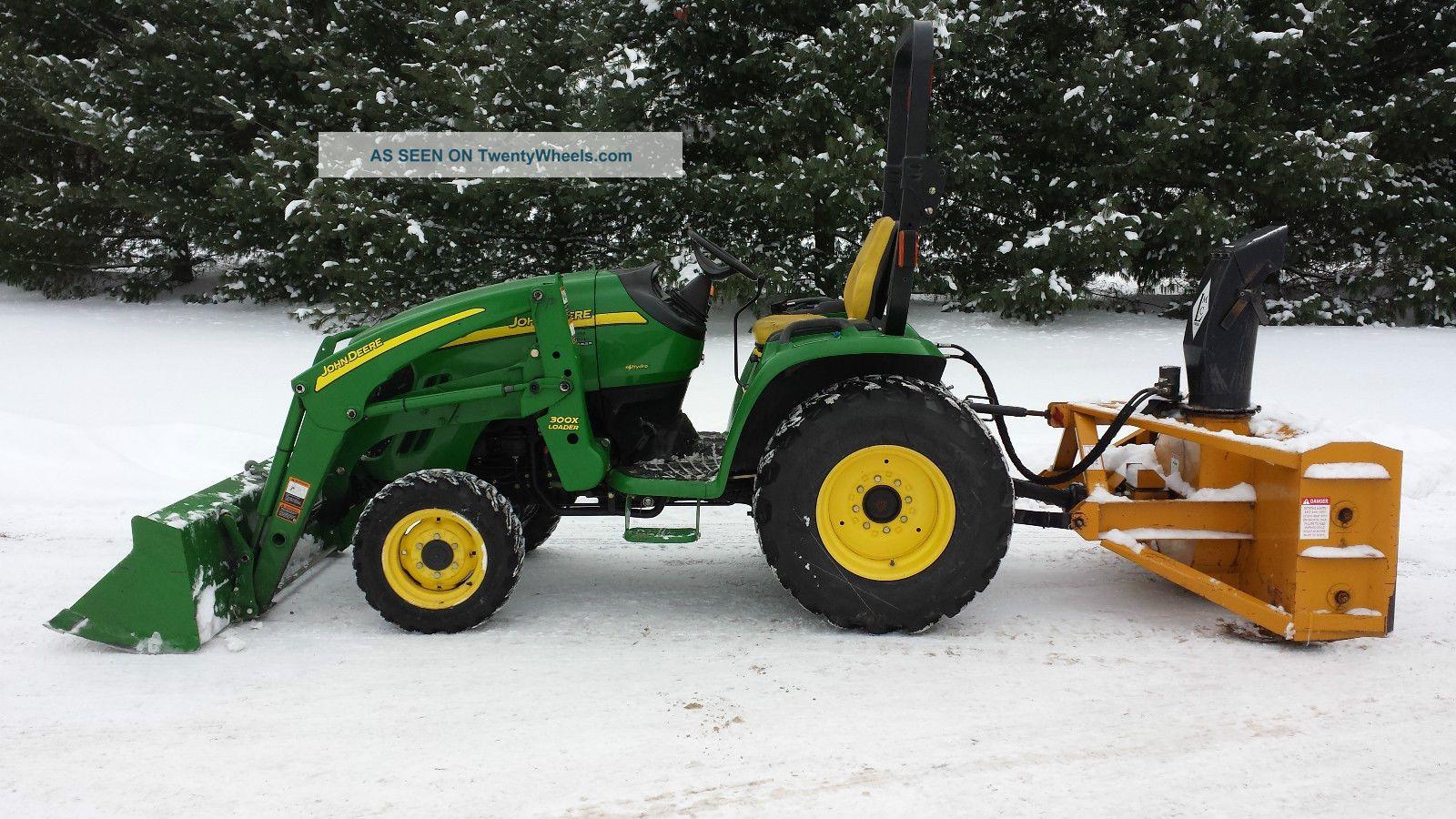 2008 John Deere 3320 Hydrostatic Tractor 550 Hours