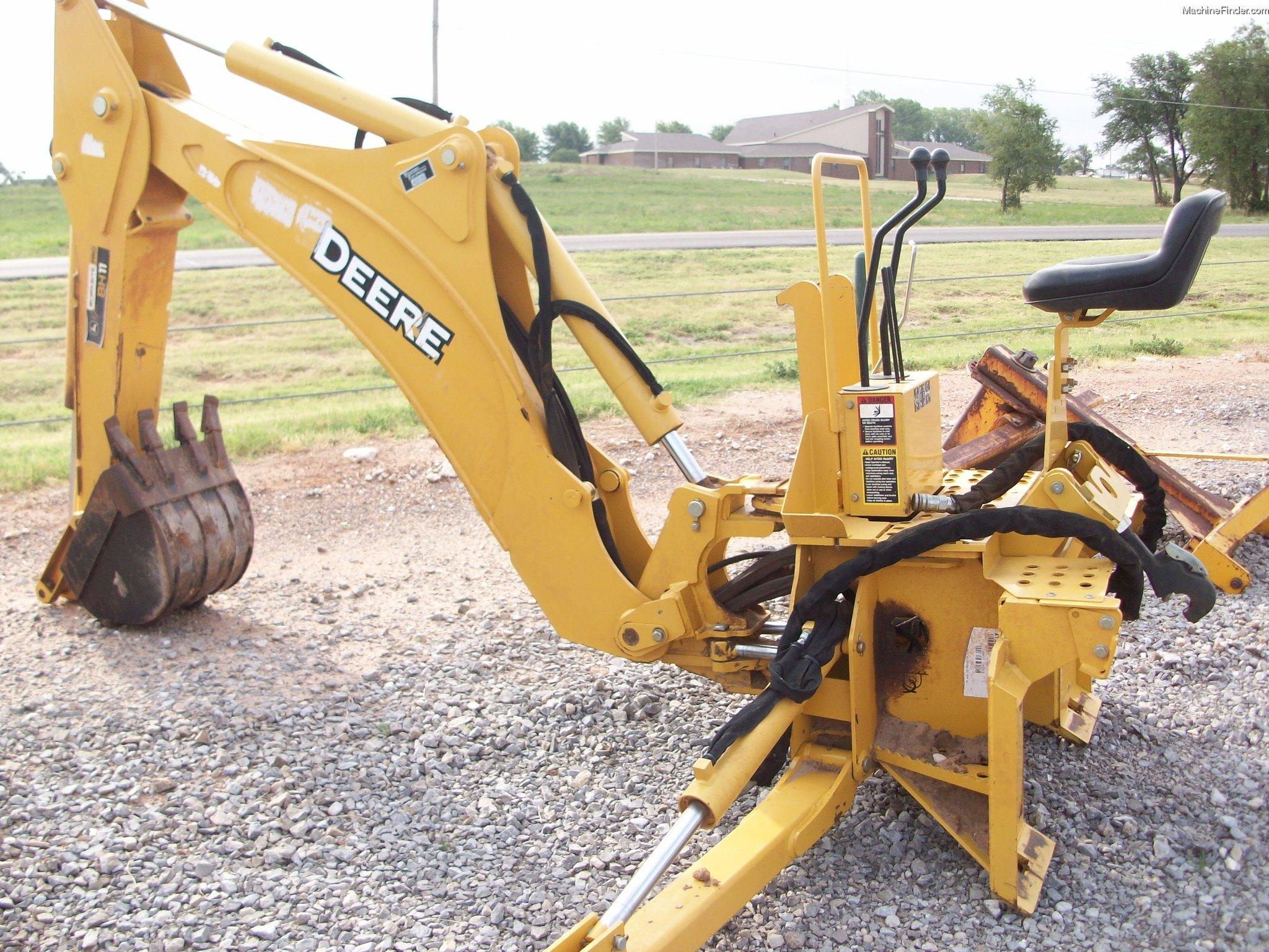 2010 John Deere BH11 Backhoe - John Deere MachineFinder