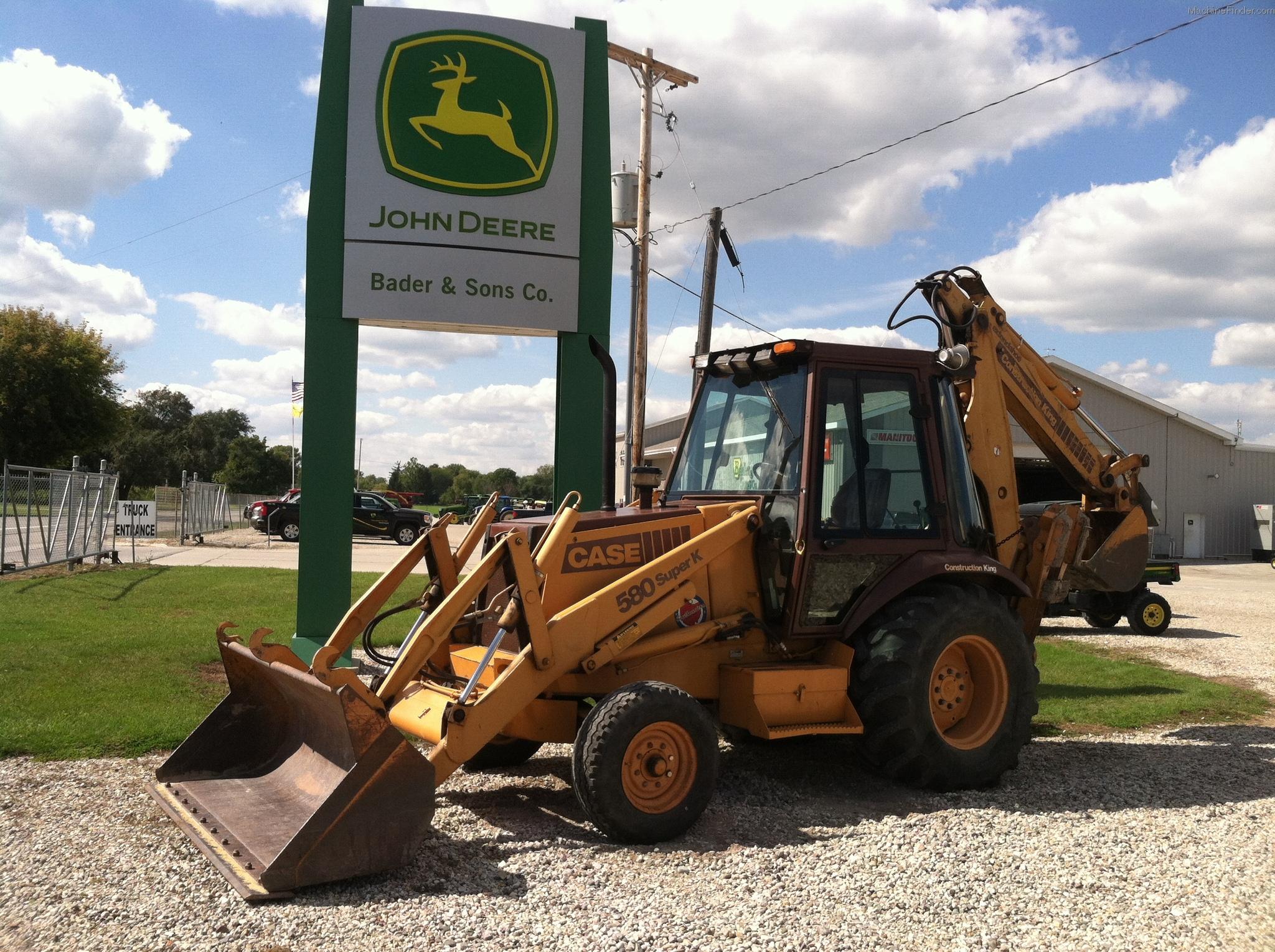 Case 580 SUPER K Tractor Loader Backhoes - John Deere ...