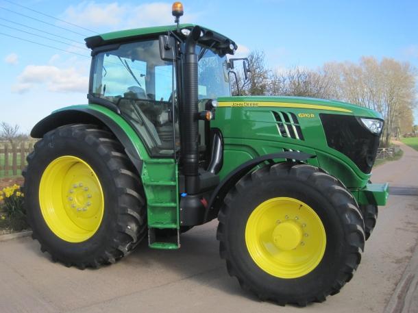 John Deere 6210R, 2012, 610 hrs | Parris Tractors Ltd