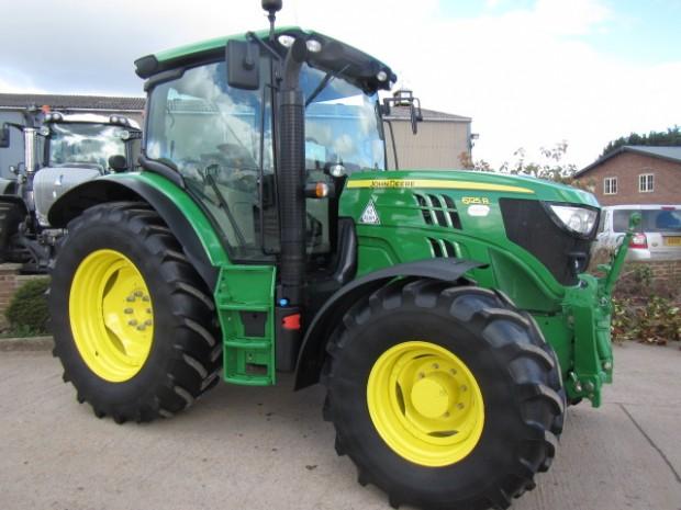 John Deere 6125R, 2014, 610 hrs | Parris Tractors Ltd