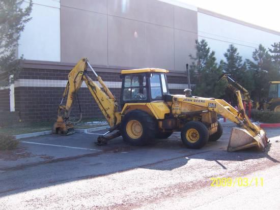 Sitzman Equipment Sales LLC - 1987 John Deere 610C Backhoe