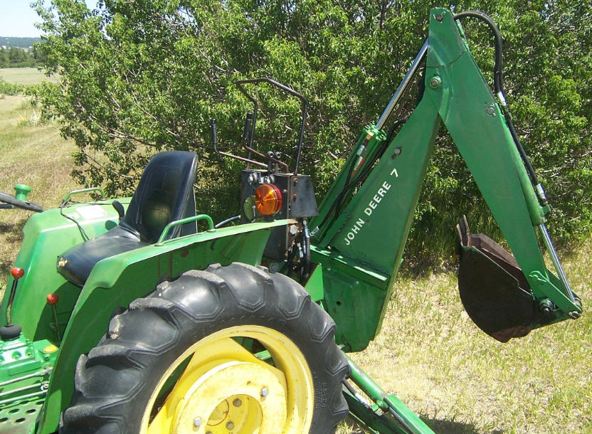 John Deere 2x4 Diesel 750 JD750 2wd two-wheel-drive ...