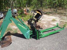 Equipment Transport John Deere 7 Backhoe Compact Tractor ...