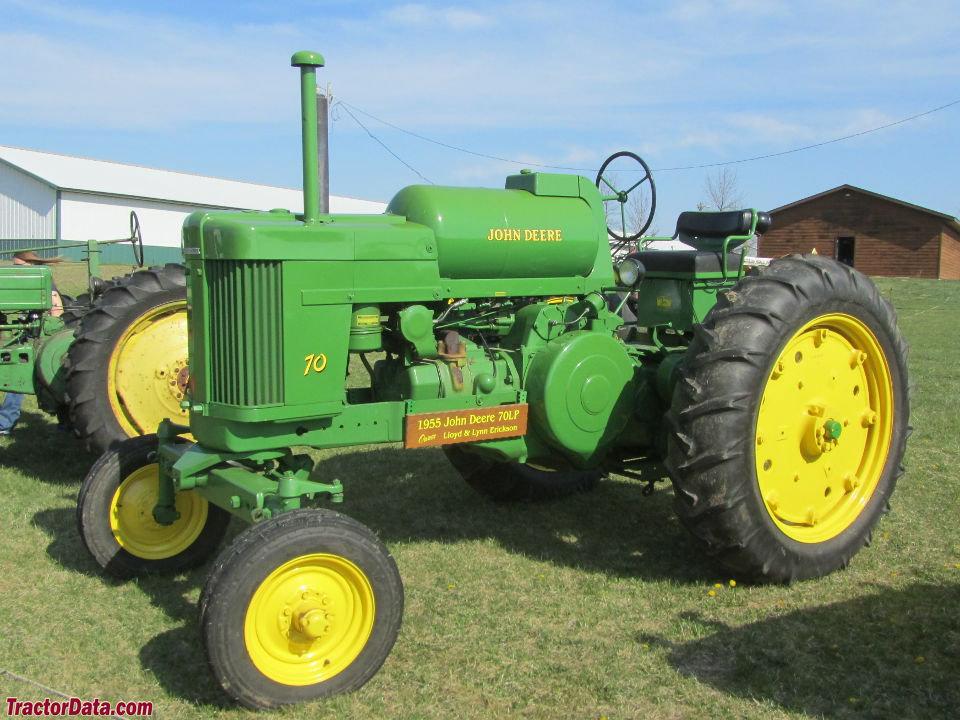 TractorData.com John Deere 70 tractor photos information