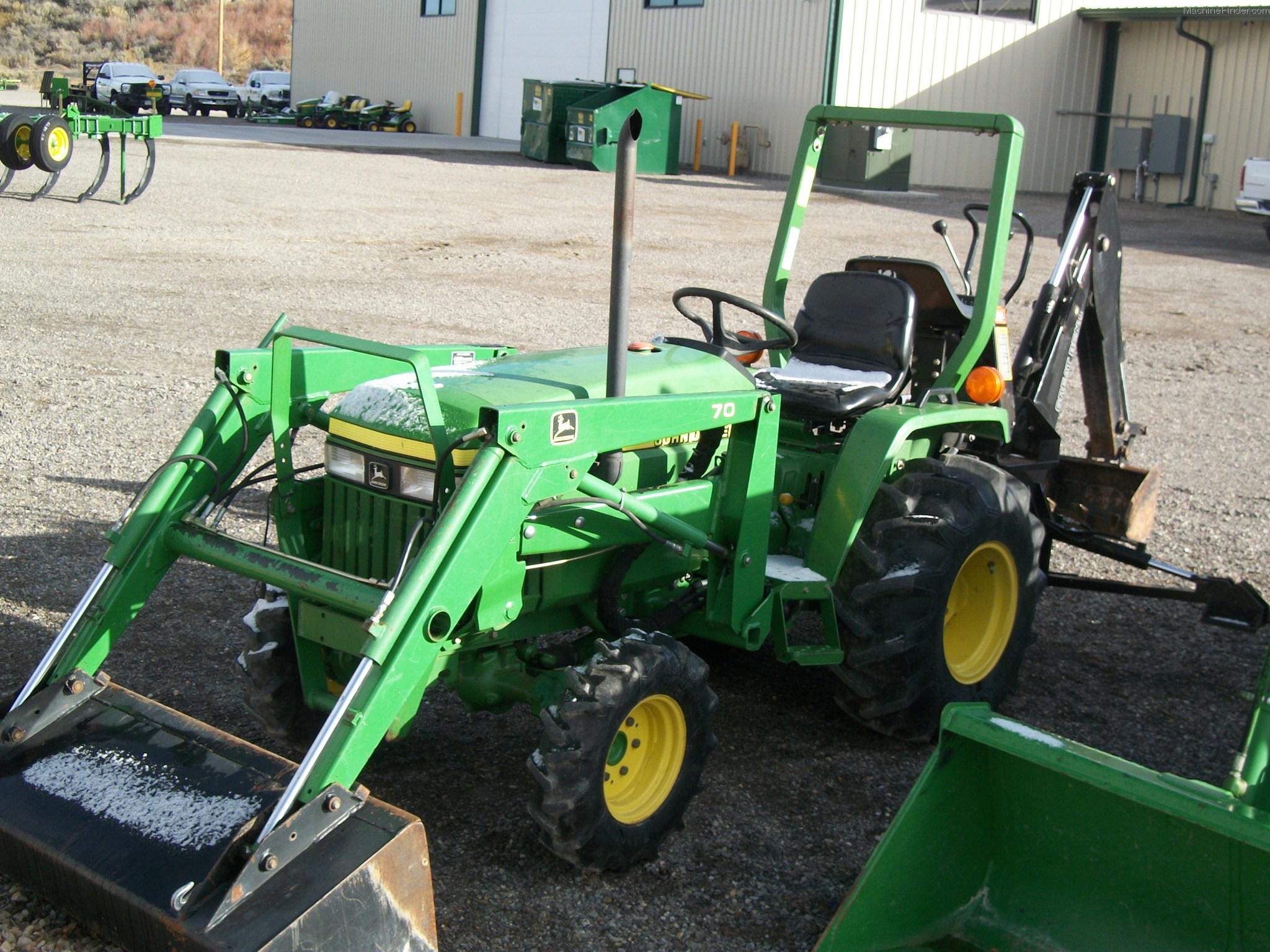 John Deere 70 Tractor Loaders - John Deere MachineFinder