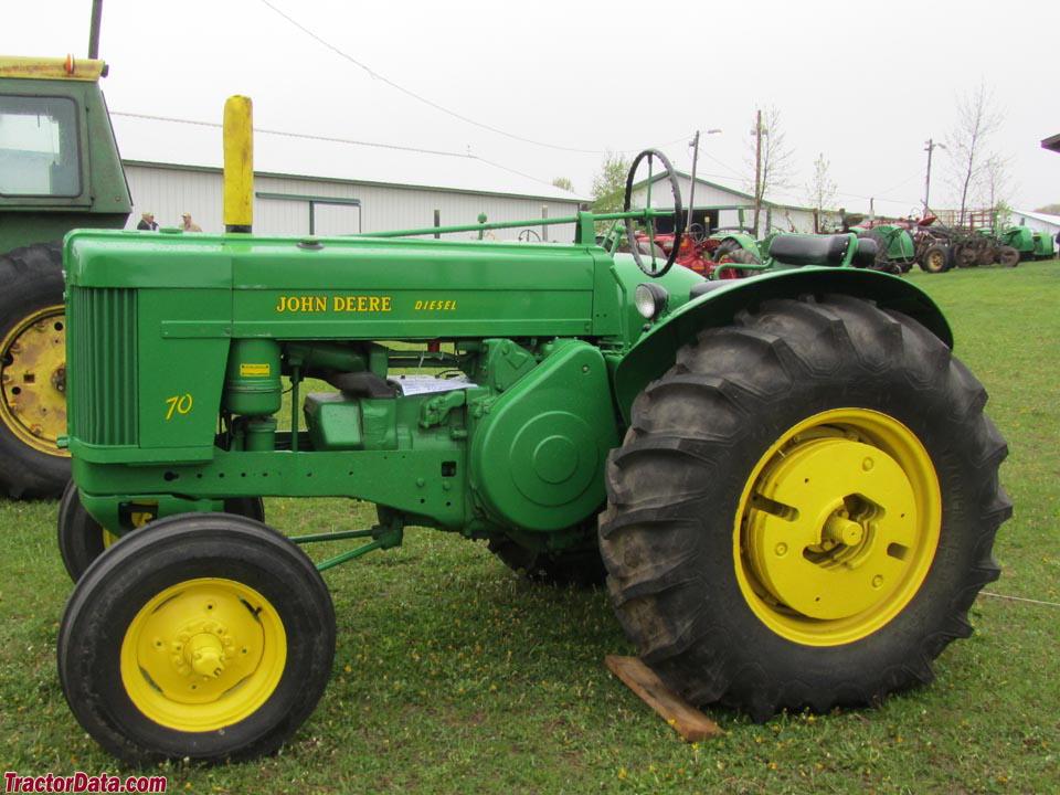 TractorData.com John Deere 70 Standard tractor photos ...