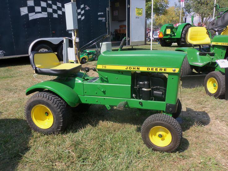John Deere 70 lawn tractor | John Deere | Pinterest