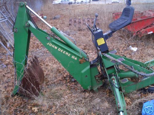 John Deere 8 Backhoe Attachment submited images.