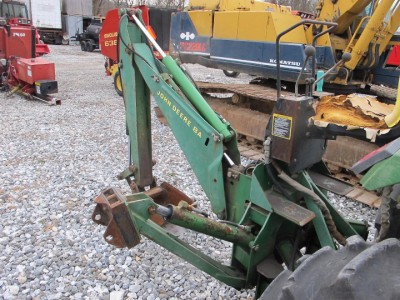 GOOD JOHN DEERE 8A BACKHOE ATTACHMENT FOR TRACTORS, CAME ...