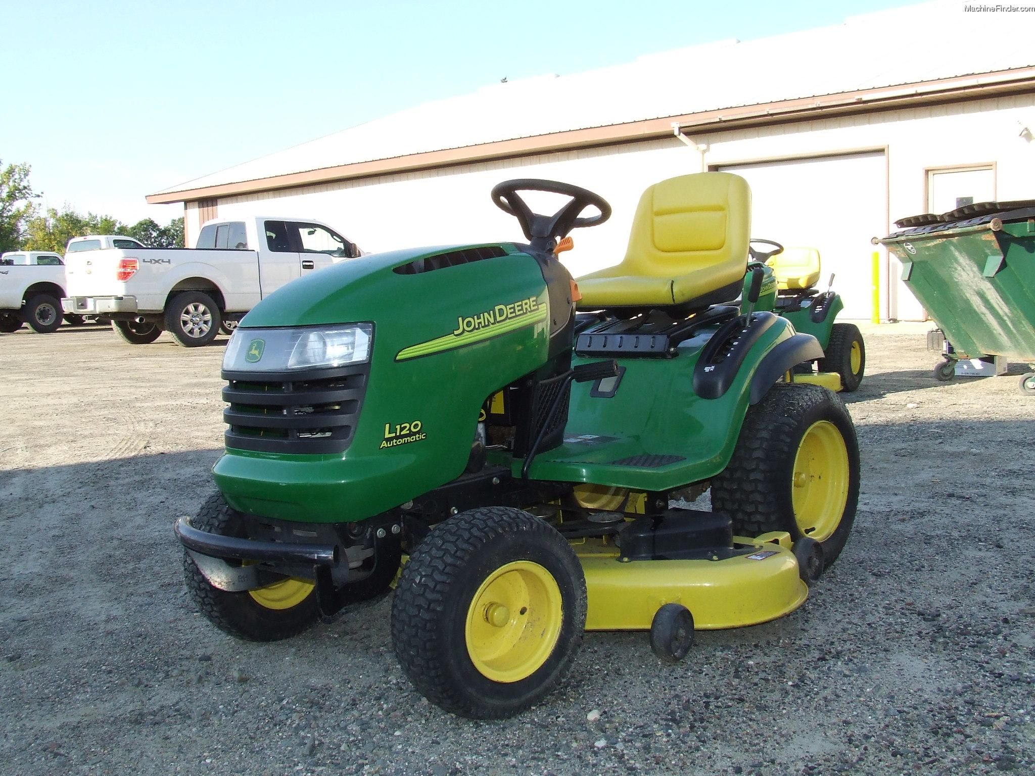 2004 John Deere L120 Lawn & Garden and Commercial Mowing - John Deere ...