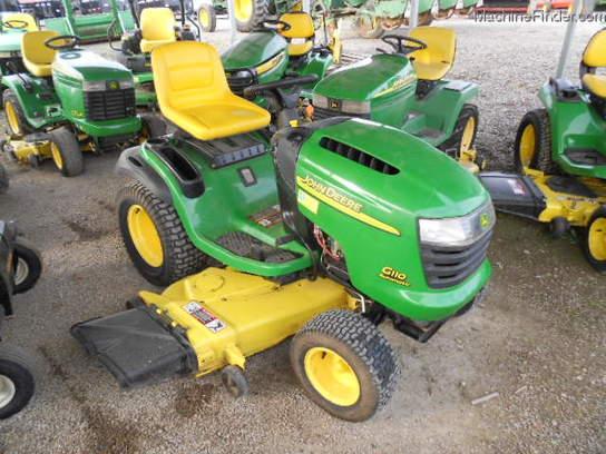 John Deere G110 Lawn & Garden and Commercial Mowing - John Deere ...