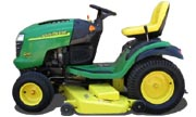 John Deere G110 lawn tractor photo