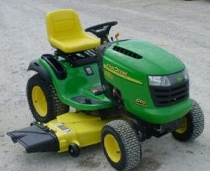 ... > Classifieds > General for Sale > john deere lawn tractor G110