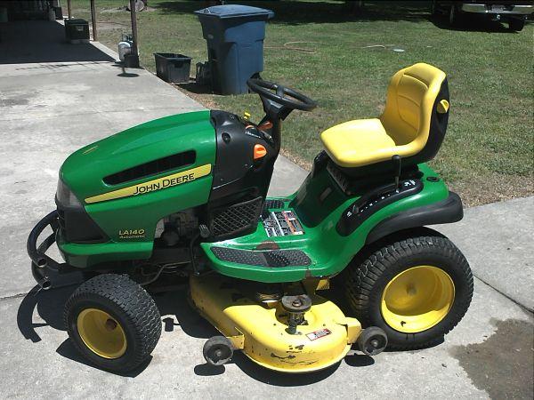 John+Deere+La140+Lawn+Mower Expired - 2007 john deere la140 Lawn Mower ...