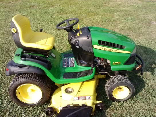 2007 John Deere LA150 Lawn & Garden and Commercial Mowing - John Deere ...