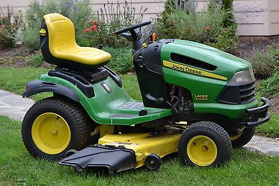 John Deere Lawn Tractor LA150 automatic 2007 Model, Only 160 hours on ...