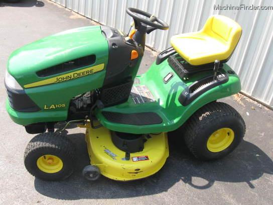 2008 John Deere LA105 Lawn & Garden and Commercial Mowing - John Deere ...